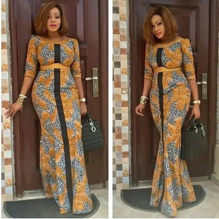 Latest Ankara styles for ladies in Nigeria