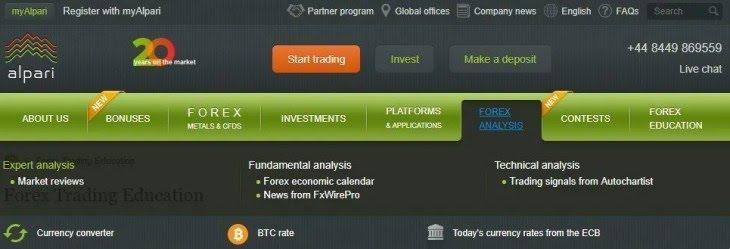 Alpari Forex Investment