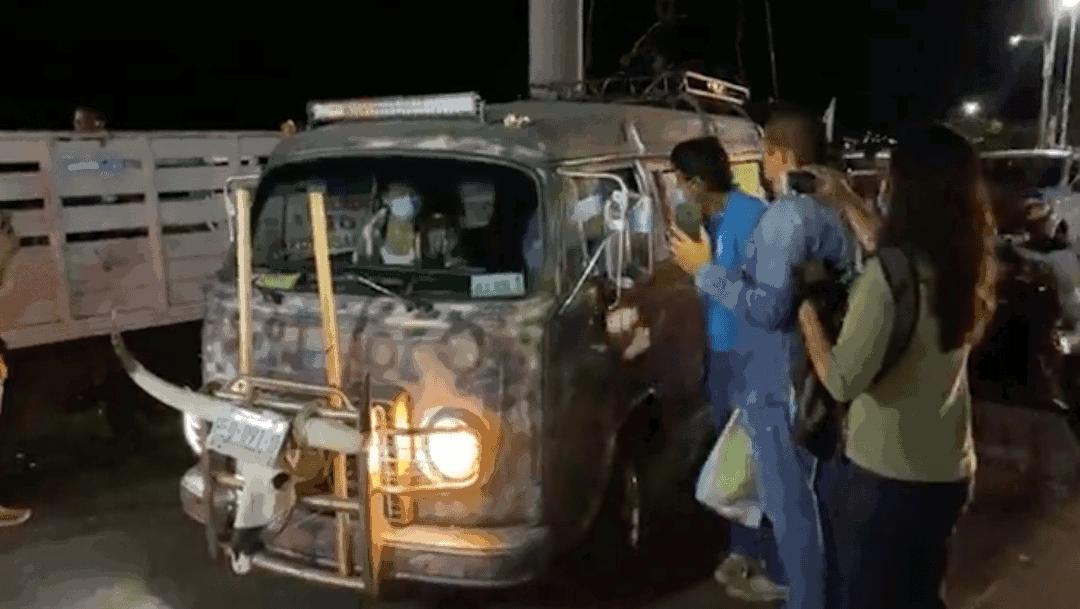 Félix Salgado Macedonio arranca caravana vehicular desde Acapulco hacia la CDMX