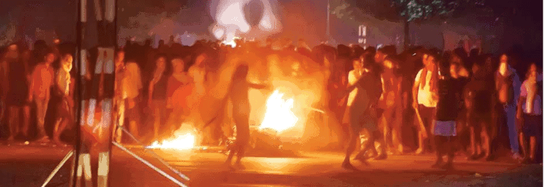 BHU Girls Protest Dainik Jagran