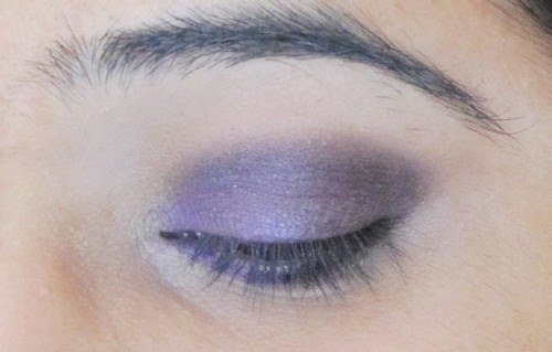 Smokey Purple Eye Makeup Tutorial 11