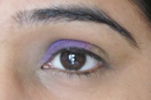 Smokey Purple Eye Makeup Tutorial 4