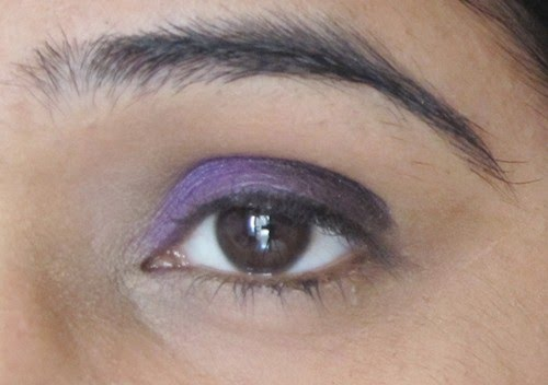 Smokey Purple Eye Makeup Tutorial 6