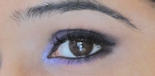 Smokey Purple Eye Makeup Tutorial